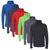 Trespass Men's Half Zip Fleece Top - 6 Colours £7.99 Each Delivered