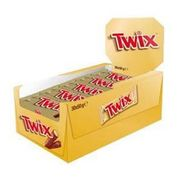 CASE OF 30 Twix Chocolates (30x50g) at Cutpricebarrys
