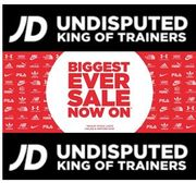 Biggest Ever Sale at JD Sports - Get Those New SNEAKERS!