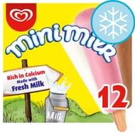 Mini Milk Ice Cream Lollies 12 X 35Ml