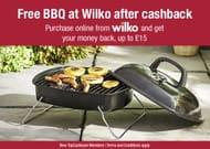Free BBQ at Wilko after Cashback