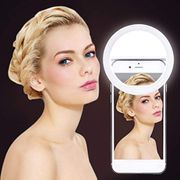 Xixini Rechargeable Selfie Ring Fill Light for iPhone/Android
