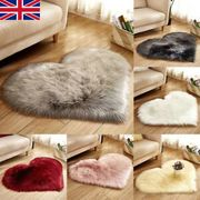 Love Heart Shaped Faux Fur Fluffy Rug