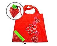 Strawberry Folding Reusable Compact Shopping Bag