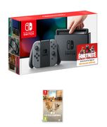 NINTENDO SWITCH GREY with LITTLE FRIENDS: DOGS and CATS Only £289.99