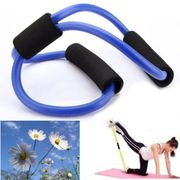 Resistance Bands Tube Fitness Muscle Workout Exercise Yoga Tubes