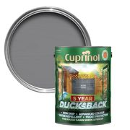 Cuprinol 5 Year Ducksback Matt Shed & Fence Treatment 5L (Various Colours)