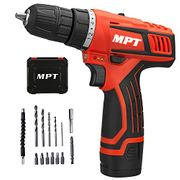 50% off MPT Cordless Drill Driver 12V 3/8 Inch Cordless Compact Drill