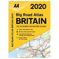 Aldi This Week-End AA Large Scale 2020 Road Atlas