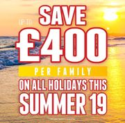 Upto £400 off per Family at Jet2