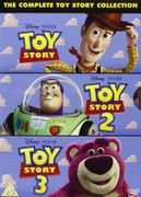 Toy Story 1/2/3 on Dvd New.