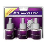 FELIWAY Classic 30 Day Refill Comforts Cats 48ml X3 + 15and40%off Voucher
