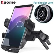 50% off Kaome Car Phone Holder Specialized for round Air Vent Car Mount