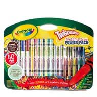 Crayola Twistable Sketch & Draw 40pc
