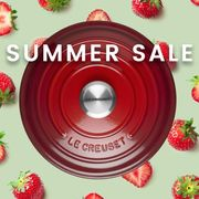 Le Creuset - Summer Sale Starts Today! save up to 40%