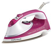 Morphy Richards Turbosteam Pro Steam Iron Pearl Ceramic Soleplate 303123