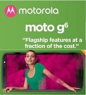 Motorola Moto G6 64GB Sim-Free Smartphone 4GB RAM (Dual Sim)