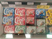 Walls Cornetto 6pk , Strawberry, Classico, Mint Any 3 for £4 at Farmfoods