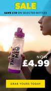 £10 off Selected Water Bottles in Clearance Sale