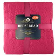 LUXURY BEDSPREAD Many Colours