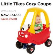 SAVE £15 - Little Tikes Cozy Coupe (ALSO IN PINK!)