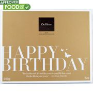 MEGA DEAL Hotel Chocolat Happy Birthday Gift Box 140g