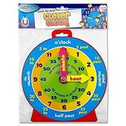 Bargain! Premier Stationery 54992 Clever Kids Magnetic Clock @Amazon