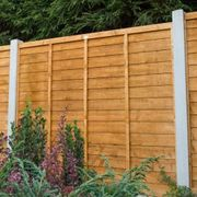 Forest 6' X 6' Overlap Fence Panel (1.83m X 1.83m)