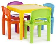 Kids Table & 4 Chairs Set - Half Price!