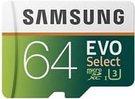 Samsung MB-ME64GA/EU 64 GB Evo Select Micro SD Card with Adaptor