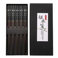Japanese Wooden Chopsticks, 5 Pairs