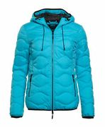 Womens Superdry Astrae Quilt Padded Jacket Aqua
