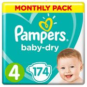 Almost 1/2 Price - Pampers Baby-Dry