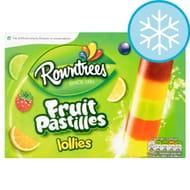 Rowntrees Fruit Pastilles Lollies 4X65ml