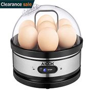 Egg Boiler, Aicok Electric Egg Cooker, Rapid Egg Cooker with Low-Water Cutoff