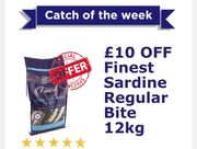 Finest Adult Sardine Complete Food Small Bite £10 Off