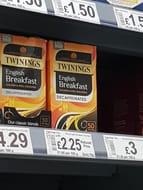 Twinings Tea for £2.25 at Asda