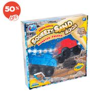 Squeezy Sand Monster Truck Set at the Entertainer - HALF PRICE