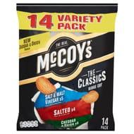 McCoy's the Classics Ridge Cut Potato Crisps 14 X 25g