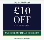 Coopers of Stortford - £10 off When You Spend £40 on Any Items