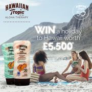Win a Holiday for Two to Hawaii worth £5,500*