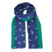 Laura Ashley Dalmatian Dog Scarf