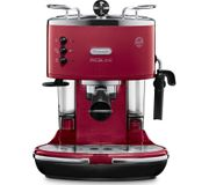 *SAVE £75* DELONGHI Icona Micalite Coffee Machine - Red or Black
