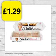 Mrs Crimble's 6 Pack £1.29