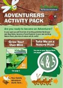Free Nature-Based Play Activity Pack with Seeds and Magnifying Glass
