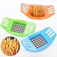 Minlop New Potato Cutter Portable Grid Slicer Hand-Cut Potato