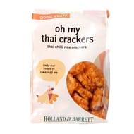Holland & Barrett Thai Chilli Rice Crackers 75g