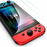 ESR Tempered-Glass for Nintendo Switch Screen Protector [2 Pack] [Force