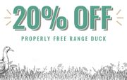 Pipers Farm - Flash Sale! 20% off Free Range Duck