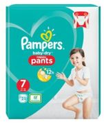Pampers Baby Dry Size 7 Nappy Pants